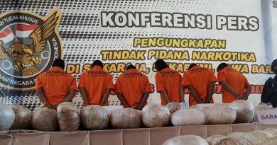 402 Kg Sabu Ditemukan Mabes Polri di Sukabumi